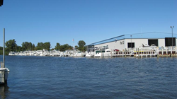 Pier 33 features new boats from Chaparral, Scout and Pursuit, plus boat docks, boat storage and comprehensive boat repair.