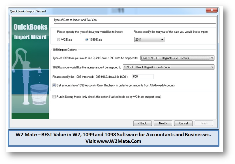 Quickbooks 1099 Electronic Filing W2 Mate Software Introduces