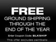 Free Ground Shipping through the end of 2011