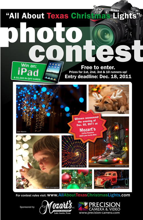 All About Texas Christmas Lights Photo Contest State