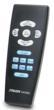 The Stalker Patrol's backlit, ergonomic remote control.