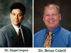 Dr. Lopez and Dr. Cahill Implants