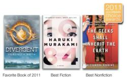 Winners of Favorite Book, Best Fiction & Best Non-Fiction of 2011