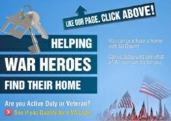 Veteran, VA loan, home loan, Heroes, War, Security, America, Mortgage, Military