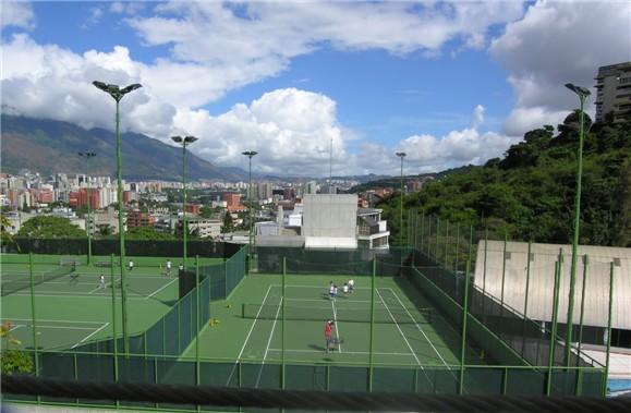 Escuela Campo Alegre on Us National Grid System