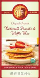 Momma B's 100% Certified Organic All Natural Gourmet Buttermilk Pancake & Waffle Mix