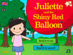 Juliette and the Shiny Red Ballon