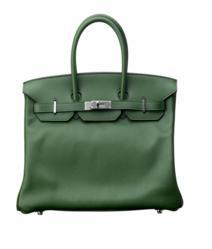 Hermès Birkin Bag - 35cm Laurier Evergrain Birkin