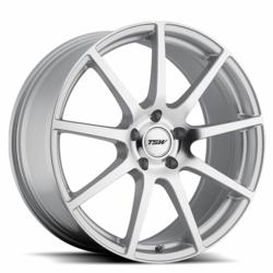The TSW Interlagos Rotary Forged Wheel in Hyper Silver