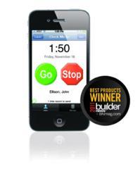 PocketClock/GPS wins BUILDERnews 2011 Best Product Award