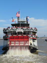 The Steamboat Natchez - Christmas New Orleans Style