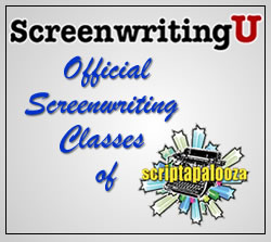 "ScreenwritingU Named ""Official Screenwriting Classes"" of Scriptapalooza"