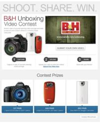 B&amp;H Photo Launches Unboxing Video Contest