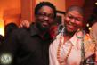"Dapo and Stacy Barthe at the ""Stacy Barthe Presents The Seven Days Of Christmas"" EP Listening Party at DMP Studio in Los Angeles on Dec 5"
