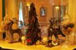 Madrona Manor decks the halls for the holiday season.