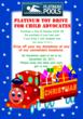 Help Houston Pool Builder Bring Cheer To Houston Kids Through Their Toy Drive.