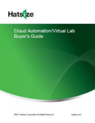 Hatsize Cloud Automation Buyer's Guide