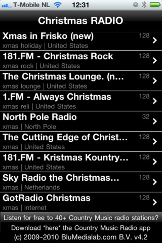 Free Christmas Radio App for iPhone, iPad and Android updated by ...