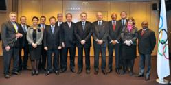 Executive Board meeting concludes in Lausanne