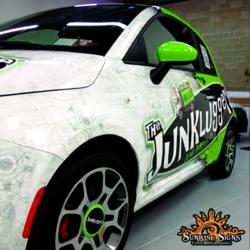 Sunrise Signs Announces The 2012 Car Wrapping Car Of The Year The