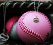 Sports Jewelry by Dana Hoiles Pink Ball