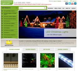 EnvironmentalLights.com Website