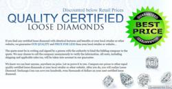 Guaranteed Best Price on Certified Loose Diamonds