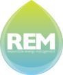 REM logo - teardrop