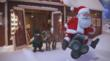 In this new remake of a classic Philips Norelco holiday spot, Santa stuns a few North Pole onlookers with his new ride: a 3D electric shaver rendered and modeled in modo.