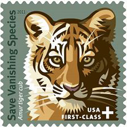 Vanishing Species first class 55 cent stamp