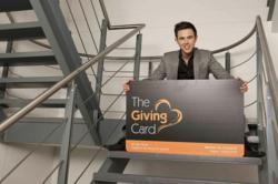 Young entrepreneur launches The Giving Card