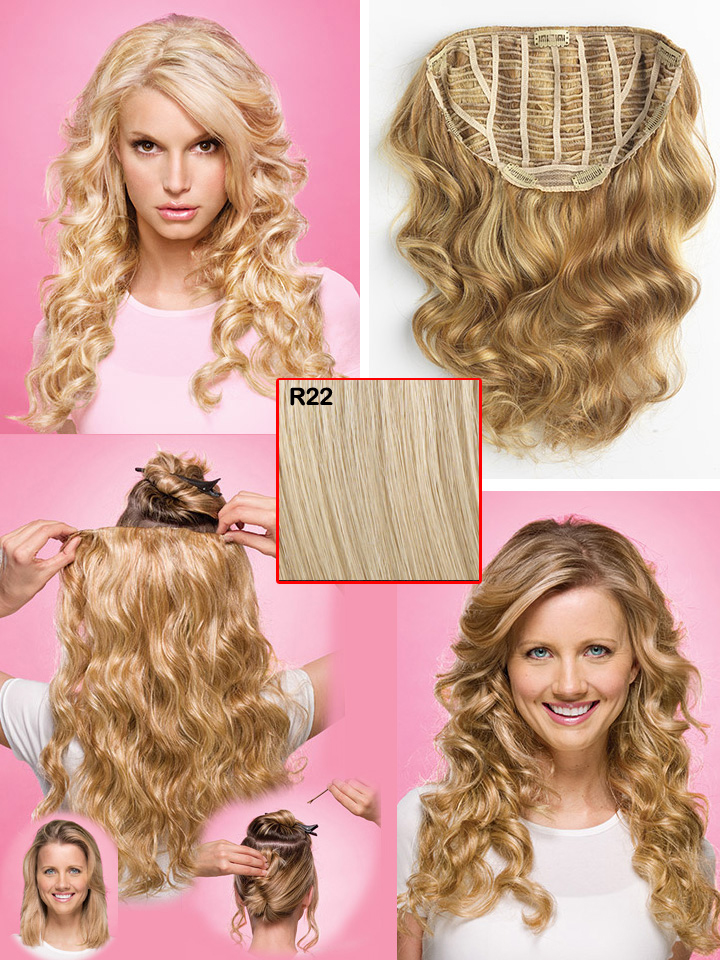 Jessica Simpson Ponytail Hair Extensions Triple Weft