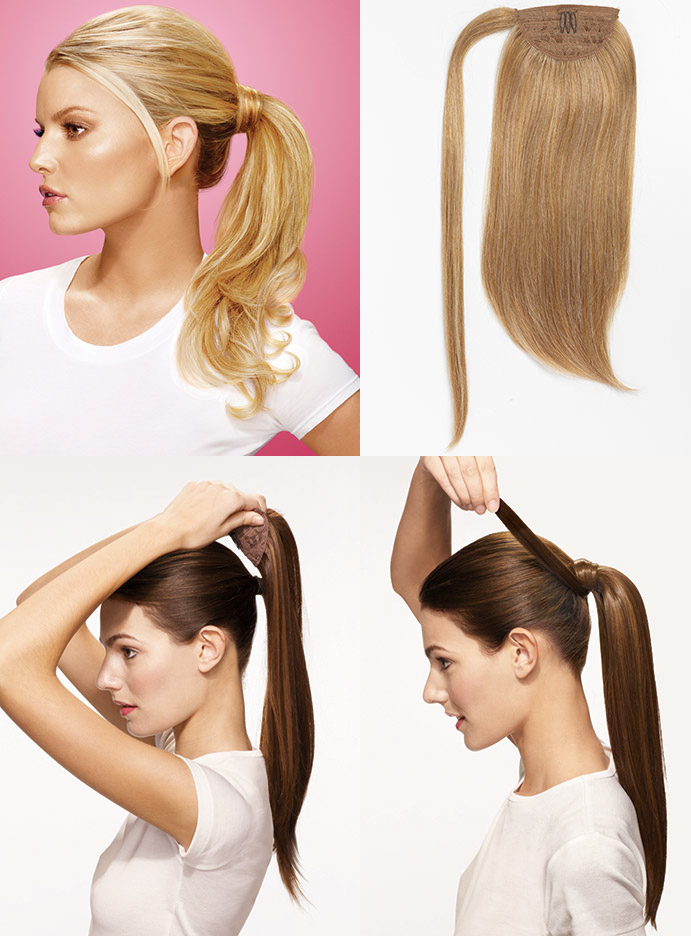 Wigavenue welcomes new hairdo by jessica simpson and ken paves jessica simpson wrap around ponytail by hairdo jessica simpson clip in hair extensions pmusecretfo Gallery