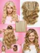 Jessica Simpson Clip-In Hair Extensions by HairDo