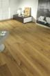 Wide plank eco-friendly hardwood flooring by Coswick