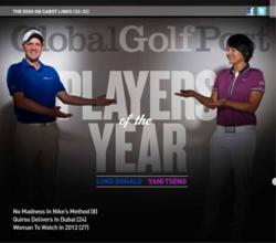 Luke Donald and Yani Tseng - The Post Players Of The Year