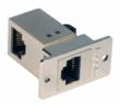 Flange-Mount RJ45 Right-Angle Coupler from L-com Global Connectivity