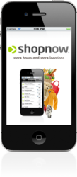 ShopNow iPhone App