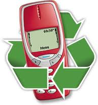 used cell phone recycle e-waste