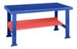 BigBlue Bench with Red Shelf