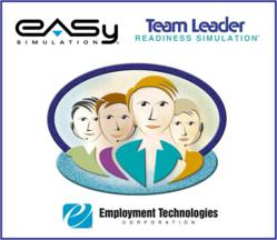Employment Technologies' Team Leader Simulation icon.