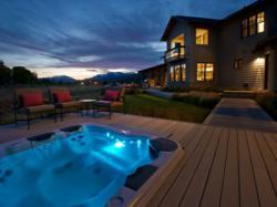 Bullfrog Spa in the 2012 HGTV Dream Home