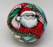 "The ""Summertime Santa"" Holiday 2011 Ball from Unforgettaballs!®"