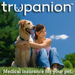 Trupanion dog with girl