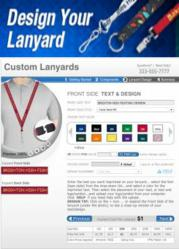 Custom Design Personalized Lanyards with the Design-A-Lanyard Tool