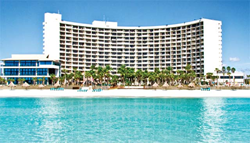 Resort resides on the sugar white sandy beaches!