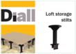 Loft Storage Stilts are a new, innovative product - available at all B&Q stores across the UK now.