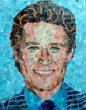 "Access Hollywood's ""Billy Bush"" portrait by Sandhi Schimmel Gold"
