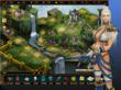 Lords At War MMO for iPhone & iPad - Alliance City with Elf Female