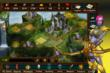 Lords At War MMO for iPhone & iPad - Alliance Town with Dark Elf Female